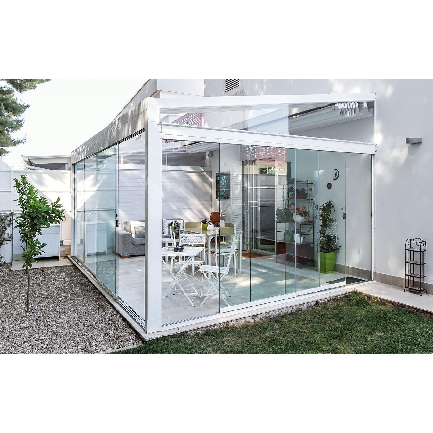 Tende Per Soffitti Inclinati pergola classica in alluminio con tetto inclinato med quadra